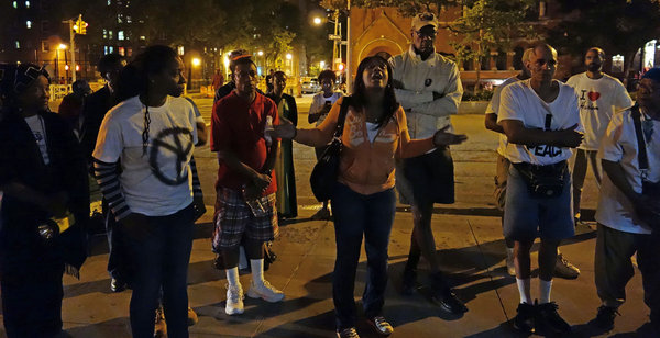 On a Corner Plagued by Violence, Rallying to Say Enough IsEnough